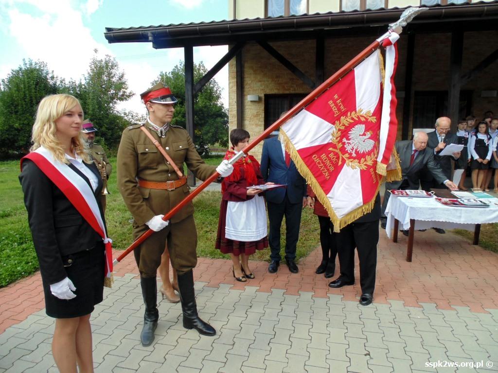 biala-blotna-2013-3.Odznaczanie sztandaru Stowarzyszenia