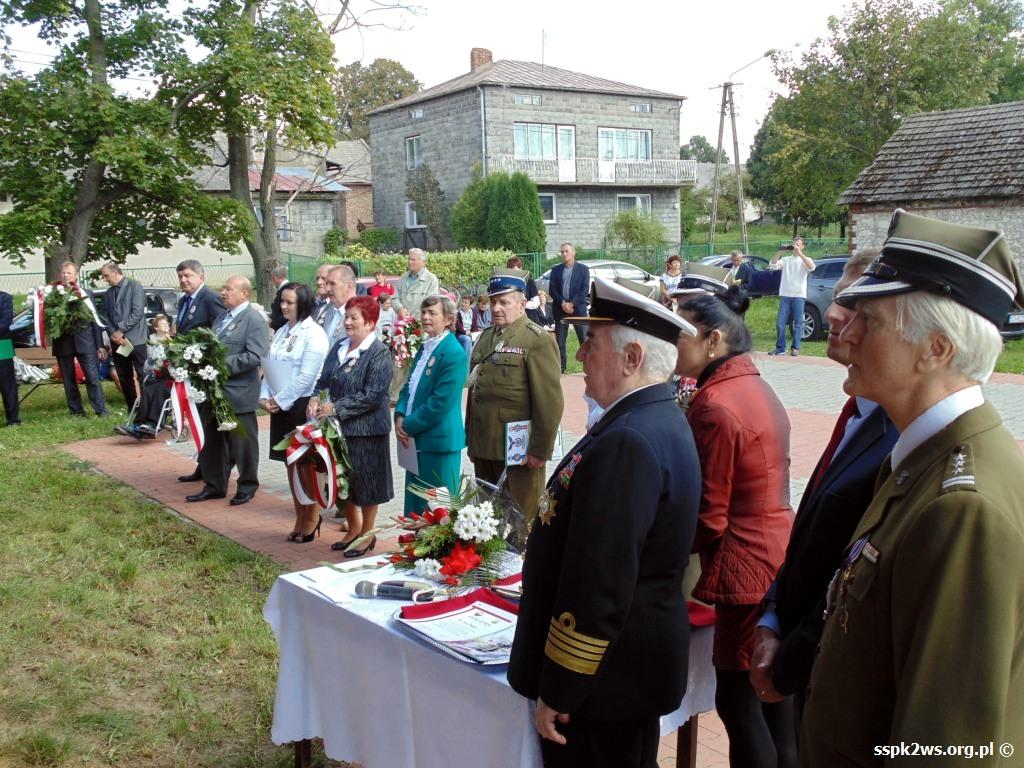 biala-blotna-2013-6.Delegacje potomków dowódców partyzanckich obecne na uroczystości
