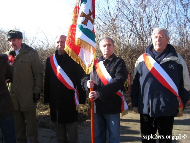 Pieniezno-2014-7.Poczet Sztandarowy Stowarzyszenia