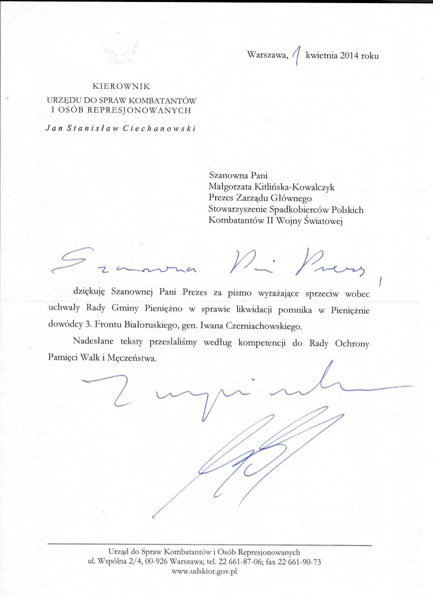 Odp.Min. J.S.Ciechanowskiego-skan